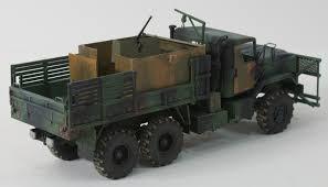 future military jeep italeri 6513 1 35 m923 gun truck build review