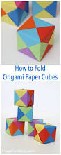 How To Make Origami Christmas Cards Paper Cubes Pin Jpg