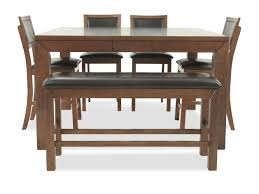 dining room sets kitchen furniture mathis brothers winners only franklin six piece pub set