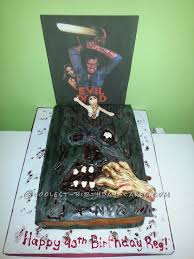 photos of halloween cakes coolest evil dead birthday cake birthday cakes cake and birthdays