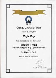 iso consultants in kolkata