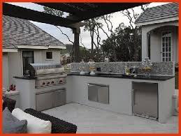 cuisine exterieure en cuisine exterieure beton fresh cuisine extérieure 6 aménagements