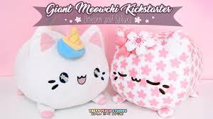 Executive Knight Pen Holder Giant Meowchi Plush Unicorn U0026 Sakura By Tasty Peach Studios