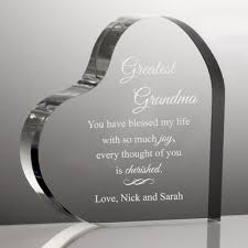personalized keepsake gifts for grandparents clocks photo frames