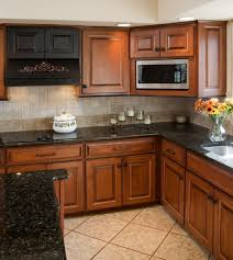Maple Cabinet Kitchen Best 25 Black Granite Countertops Ideas On Pinterest Black