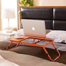 Adjustable Rolling Laptop Desk by K U0026amp B Furniture Laptop Desk Walmart Com