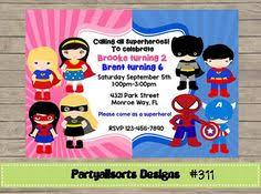 princess superhero party invitations princess party pinterest