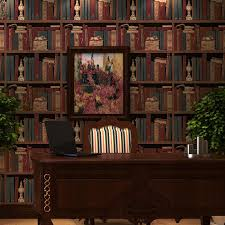 online buy wholesale bookshelf bookcase wallpaper from china