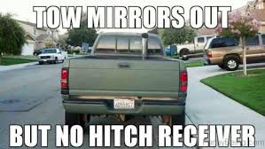 Dodge Tow Mirrors Meme - anyone else hate people who have their tow mirrors out