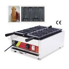 cake maker aliexpress buy ggayke waffle hotdog machine commercial gayke