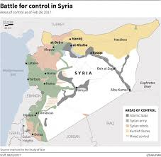 Syria Conflict Map Us Marines Are Deploying To Fight Isis In Raqqa Syria Public