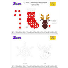 quilled christmas ornaments quill on