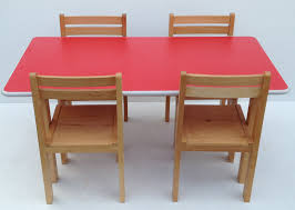 childrens wooden table and chairs unique kids preschool beech wood table and chairs set classroom desk