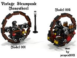 lego honda lego ideas vintage steampunk monowheel