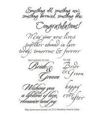 wedding sentiments wedding marriage sentiments