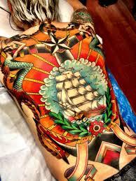 homeward bound chest tattoo more information