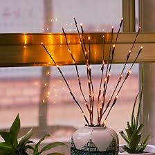 lighted branches branch lights led branches battery powered decorative lights