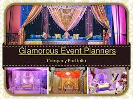 Event Planners Glamorous Event Planners Company Profile