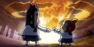 Meme Anime - pop team epic is an anime for the meme generation