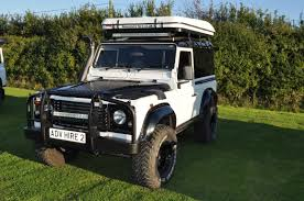 white land rover defender white defender 90 adventure hire