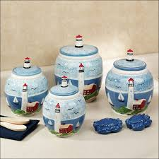 kitchen decorative canisters kitchen canister ideas red glass