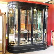 Antique Edwardian Display Cabinet Edwardian Curved Glass Display Cabinet Shop Fittings Andy