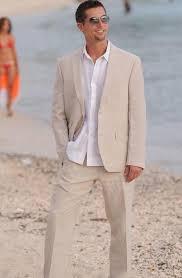 mens linen wedding attire chagne linen suits notched lapel men wedding suits grooms
