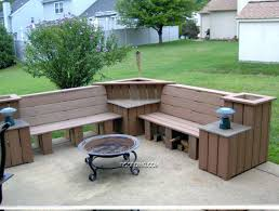 bench storage outside medium size of wood patio tables for sale