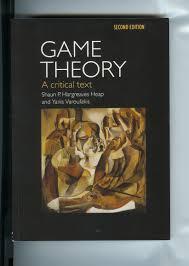 game theory a critical text u2013 yanis varoufakis