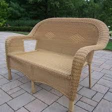 All Weather Wicker Loveseat Furniture Interesting Wicker Loveseat For Your Furniture Design