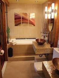 Oriental Bathroom Decor Narrow Small Bathroom With Mirror Creating A Luxury Small