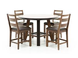 counter dining chairs steinhafels taos 5 pc counter height dining set