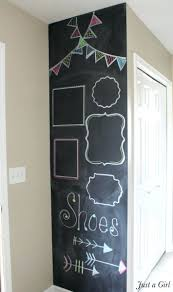 dining decorating 15 modern diy chalk board wall chalk markers
