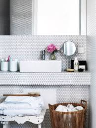 White Bathroom Tile Designs 30 Penny Tile Designs That Look Like A Million Bucks