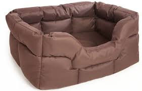 Covered Dog Bed P U0026 L Superior Pet Beds Heavy Duty Rectangular Waterproof Softee