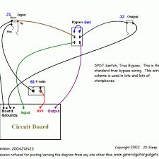 winsome dpdt switch wiring diagram guitar inspiring wiring ideas