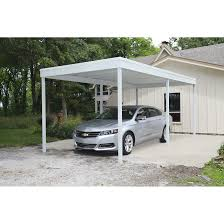 10x20 Garage Freestanding Patio Cover Carport 10x20 Carports Arrow Sheds