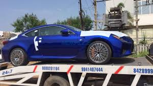 lexus rc f stance somebody ordered for a lexus rc f in chennai motoroids