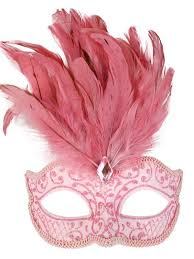 pink masquerade masks costumes and party stuff pale pink masquerade mask