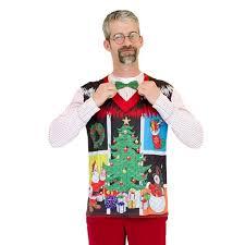 hanukkah vest men s costume christmas sweater vest with bow tie