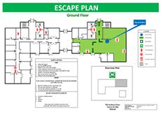 Evacuation Floor Plan Template Altra Emergency Planning Floor Plan Design