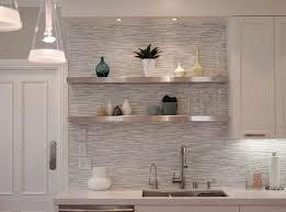 floating shelves for bathroom towels beige ceramic tile wall