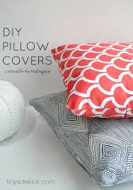 Cusion Cover How To Make An Envelope Pillow Cover