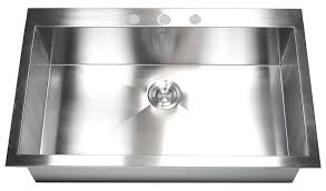 top mount stainless steel sink 36 inch top mount drop in stainless steel single bowl kitchen sink