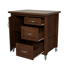 kitchen storage cabinet cart sunset trading kitchen cart 3 drawers storage cabinet distressed medium walnut