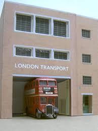 kingsway models lt central bus garage kits