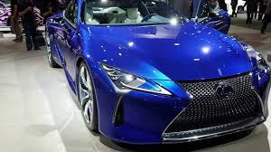 lexus electric supercar 2017 lexus lc 500 hybrid youtube