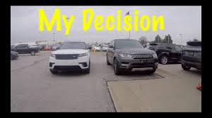 why i chose the range rover velar over the sport youtube