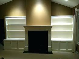 how to build a fireplace mantel shelf video over brick