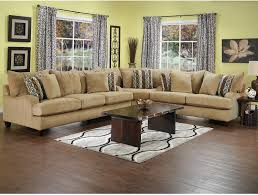 Chenille Sectional Sofas Living Room Furniture Putty Chenille Sectional Beige Home
